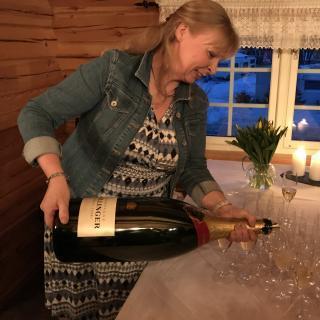 Referat fra Champagnekveld i regi av Bailliage de Trøndelag